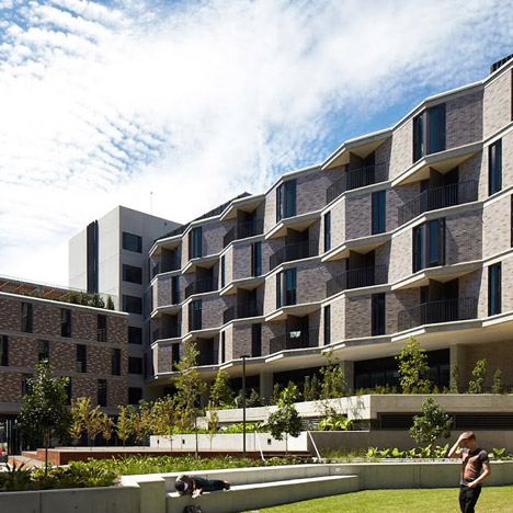 UNSW Kensington Colleges by Bates Smart