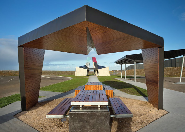 Geelong Ring Road Rest Areas by BKK Architects