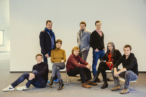 Eight of the Designers of the Year participating in Biennale INTERIEUR 2014