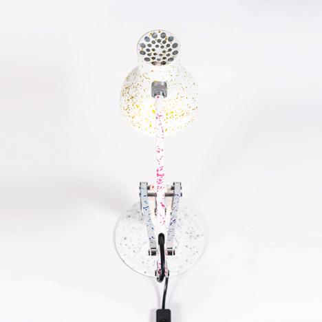 Anglepoise lamp by Benjamin Hubert