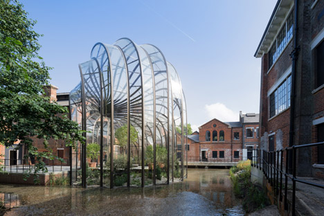 Thomas Heatherwick's gin distillery for Bombay Sapphire opens