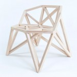Structural trusses influence Bridge furniture by Variant Studio