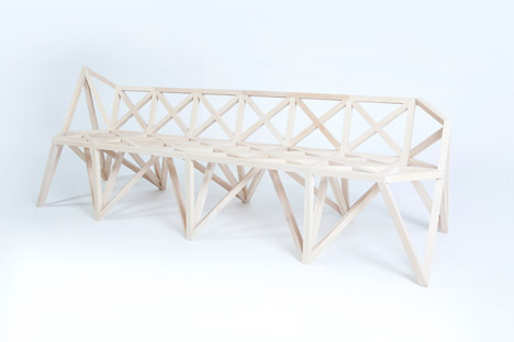 Bridge furniture by Variant Studio