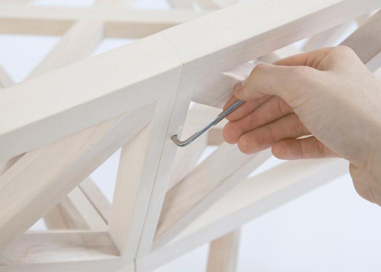 Bridge furniture by Variant Studio