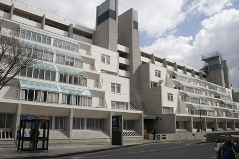 Brunswick Centre by Patrick Hodgkinson