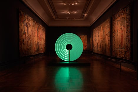 Candela installation at the V&A for London Design Festival 2014