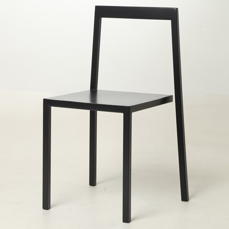 Chair 3/4 by Sandro Lominashvili looks like an optical illusion