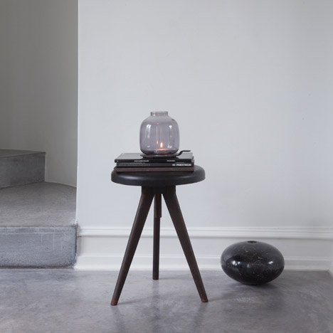 Chamberlight by Hallgeir Homstvedt diffuses candle light through a glass bubble