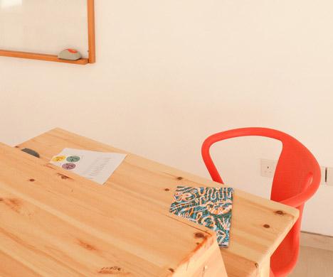 Classroom for a maths teacher by Marios Karystios