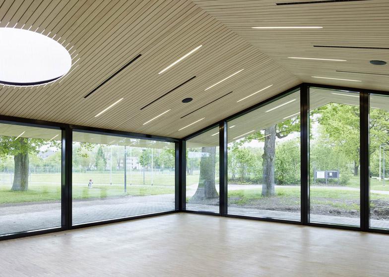 Community hall in Oberglatt by Frei + Saarinen