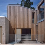 Henley Halebrown Rorrison uses timber and brick for London's first co-housing development