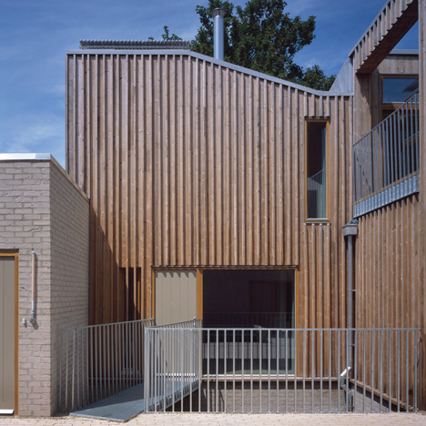 Henley Halebrown Rorrison uses timber and brick for London's