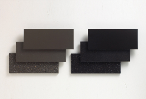 The new six brown colours of DuPont – left, top to bottom: Deep Sable, Deep Mink, Deep Bedrock. Right, top to bottom: Deep Espresso, Deep Caviar, Deep Storm.