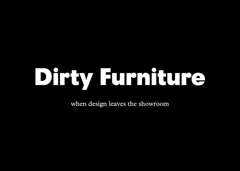 Dirty Furniture magazine
