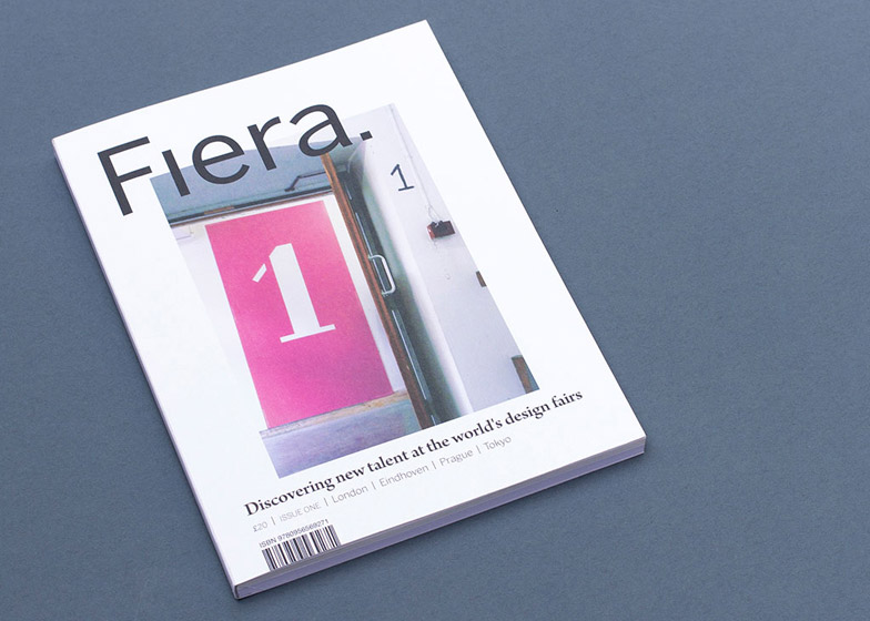 Fiera new design magazine from Katie Treggiden