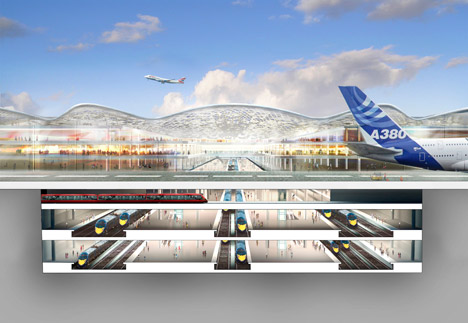Thames Hub airport by Foster + Partners