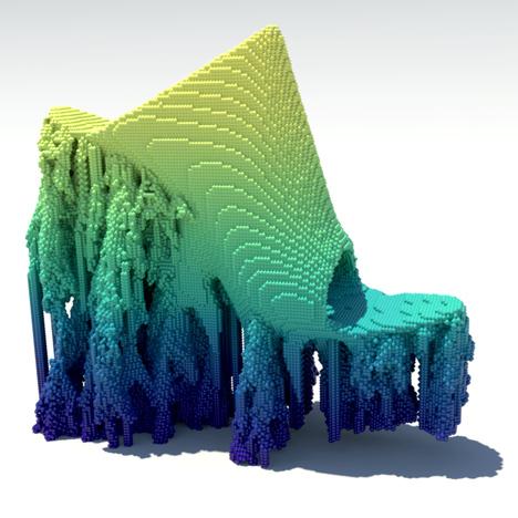 Francis Bitonti Molecule 3D printed shoes