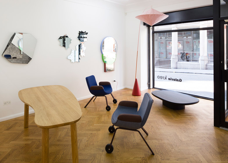 Des Formes Utiles exhibition at Galerie Kreo