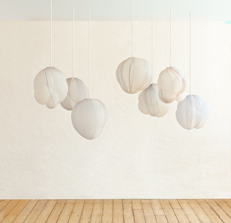 """Jeremy Maxwell Wintrebert exhibits blown-glass """"clouds"""" at Gallery Fumi"""