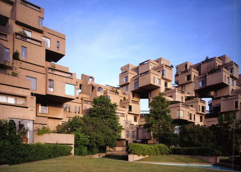 Brutalist buildings habitat 67 montreal by moshe safdie for Habitat 67 architecture