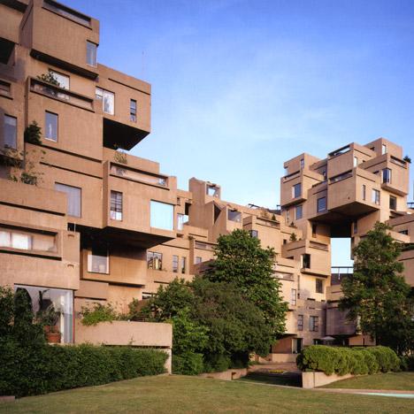 Brutalist buildings: Habitat 67, Montreal<br /> by Moshe Safdie