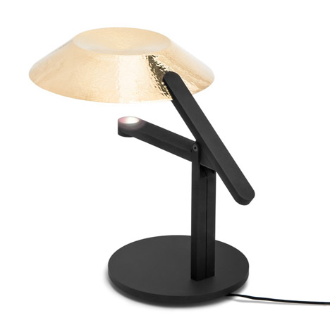 Big-Game's Hammer Lamp combines traditional and contemporary metalwork