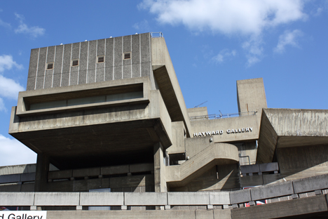 Hayward Gallery by Norman Engleback, Ron Herron and Warren Chalk