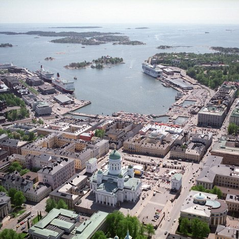 Helsinki south harbour