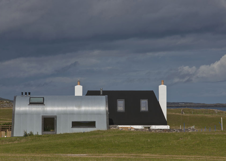 House No 7, Isle of Tiree by Denizen Works