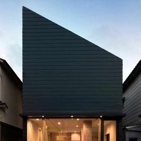 "Shintaro Fukuhara's family home has a glass facade like ""a showroom"""