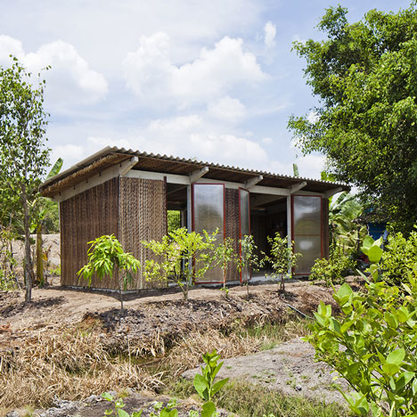 Vo Trong Nghia unveils second prototype for low-cost Vietnamese housing