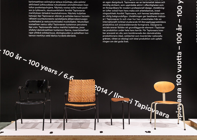 Ilmari Tapiovaara exhibition at Helsinki Design Museum
