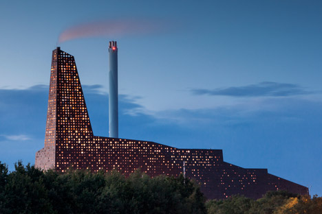 Incineration Line in Roskilde Denmark by Erick van Egeraat