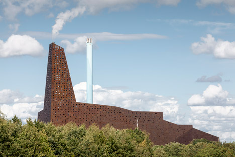Incineration Line in Roskilde, Denmark by Erick van Egeraat