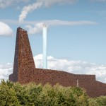 Erick van Egeraat's Roskilde power plant has a glowing perforated facade