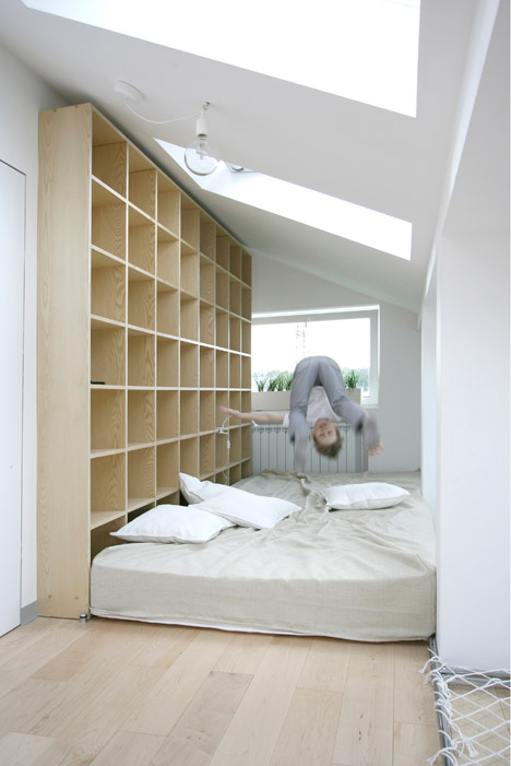 Interactive play and study space by Ruetemple