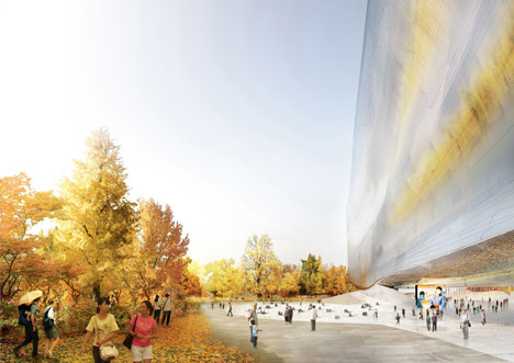 National Art Museum of China by Jean Nouvel