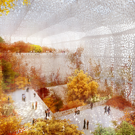 Construction starts on Jean Nouvel's National Art Museum of China