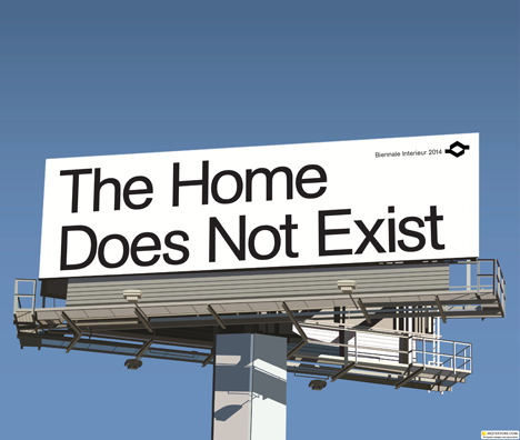 The Home Does Not Exist cultural programme, curated by Joseph Grima