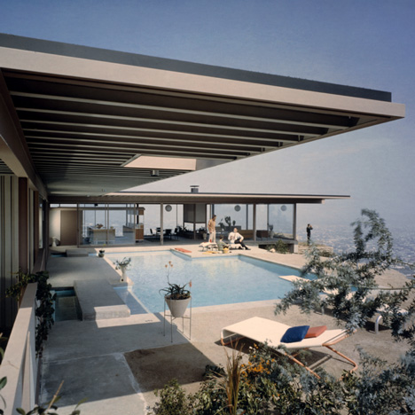 Case Study House #22 Pierre Koenig by Julius Shulman, 1959