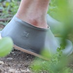 Lou Moria uses vacuum forming to create recyclable shoes in seconds