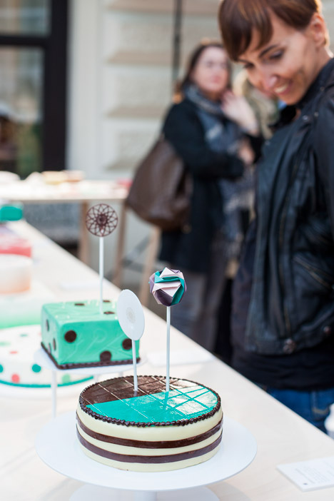 Patisserie project by Lucy D at Vienna Design Week