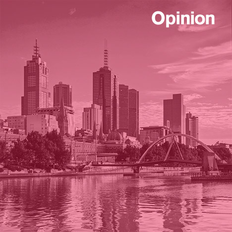 Melbourne's central business district