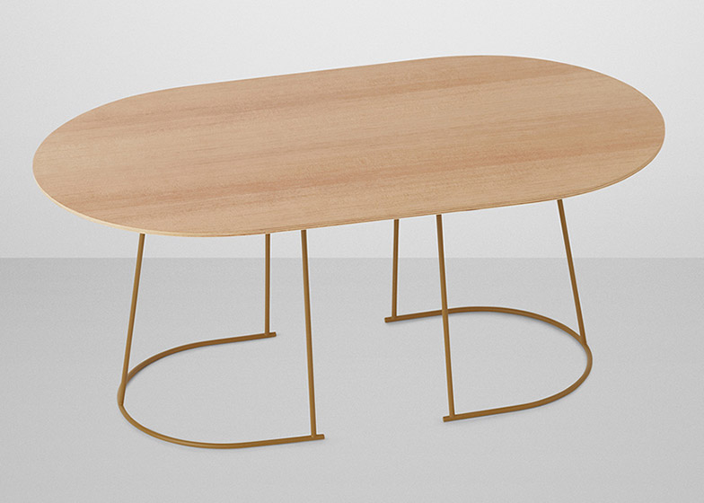 Airy table by Cecilie Manz