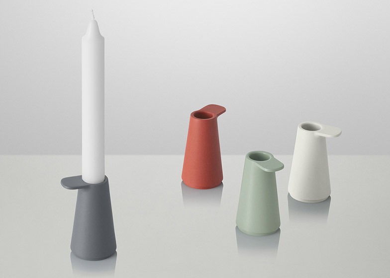 Grip Candlesticks by Jens Fager
