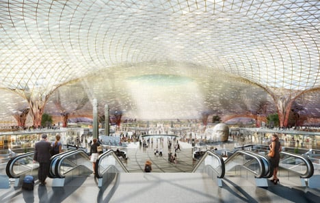 Norman Foster teams up with Fernando Romero on new Mexico City airport