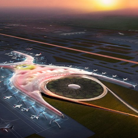Foster teams up with Fernando Romero<br /> on new Mexico City airport