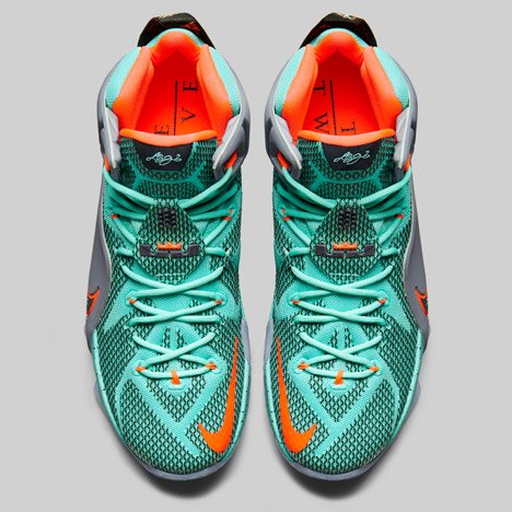 buy online d1d05 cb1b1 Nike Lebron 12 Designed specifically for basketball star LeBron James, who  is currently playing for the Cleveland Cavalier NBA team, the boot has an  upper ...