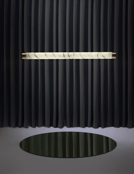Nouveau Rebel marble collection by Lee Broom for London Design Festival