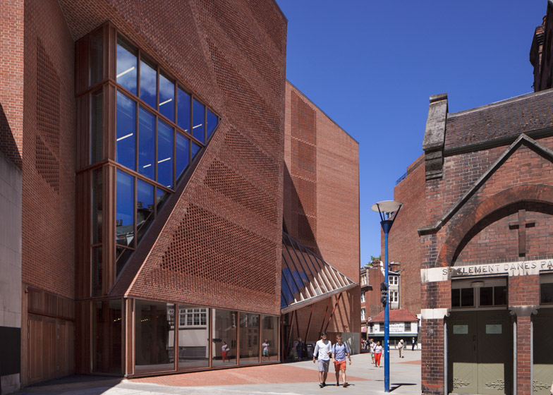 London School of Economics Saw Swee Hock Student Centre by O'Donnell and Tuomey